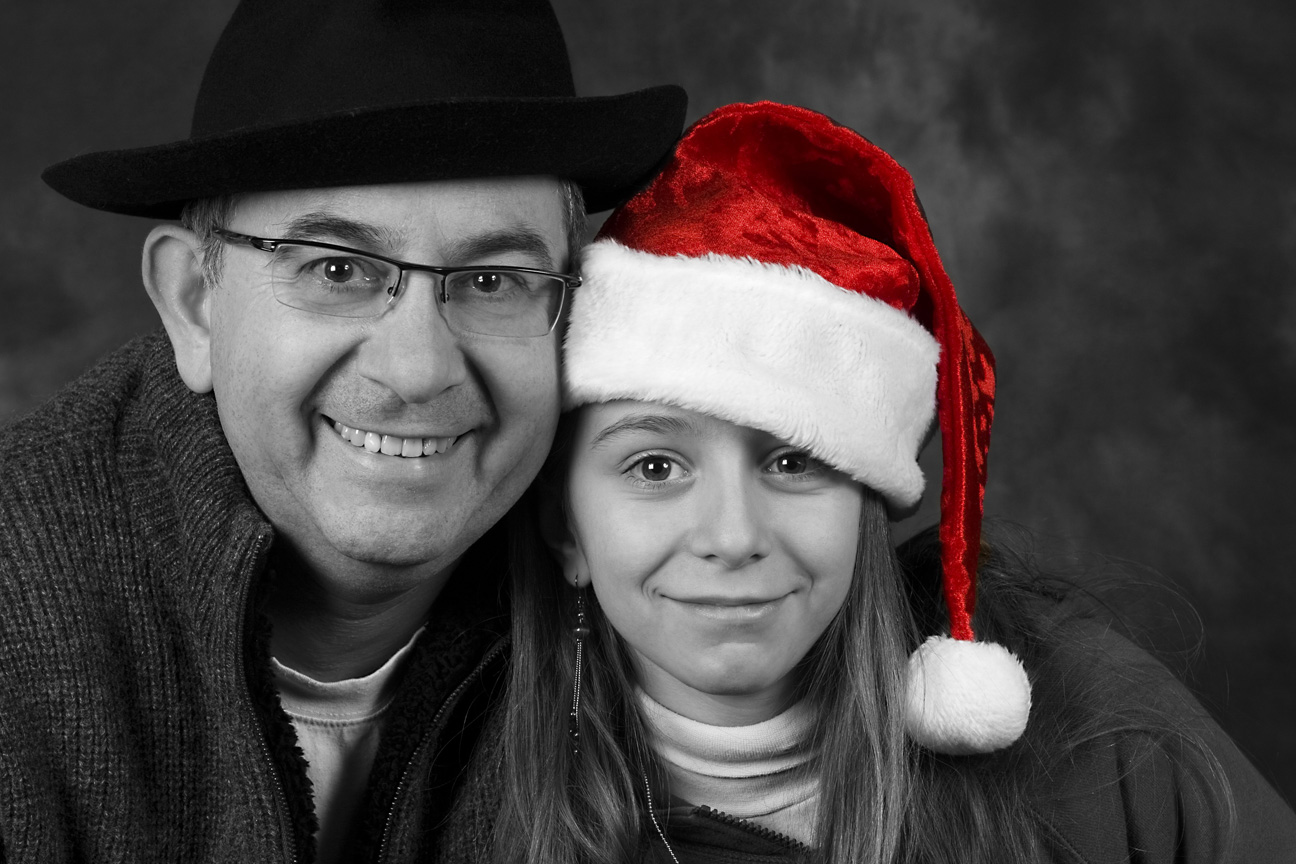 Portrait familial, pour Noël.
