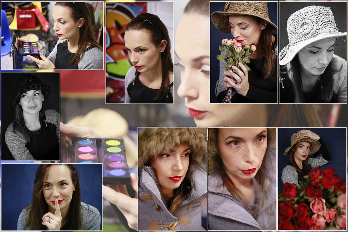 Cours de photo de studio, et Maquillage ; club photo école MJC Croix Daurade.