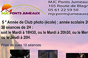Affiche du club photo Ponts Jumeaux 2013-2014.