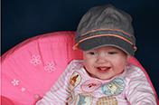 Photos de bébés, en Studio.