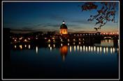 Photo de nuit, tse, avec le groupe des Ponts Jumeaux ; MERCREDI 09 AVRIL 2014.