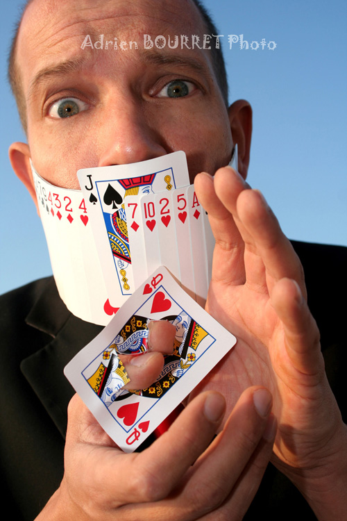 Romaric Hoffman magicien